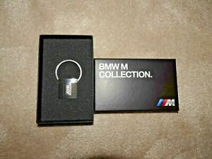 Genuine BMW M-performance Stainless Steel Keyring 80272454760 - Excellent Cond