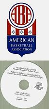 Original ABA Radio Broadcast on CD - Memphis Sounds vs Indiana Pacers (1975)