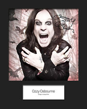 OZZY OSBOURNE #2 10x8 SIGNED Mounted Photo Print - FREE DELIVERY