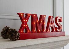 Luci di Natale rosso senza marca