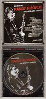 IMMORTAL RANDY RHOADS: THE ULTIMATE TRIBUTE CD GERMAN IMPORT JEWEL CASE