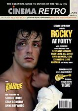 CINEMA RETRO #37 ROCKY 40TH ANNIVERSARY DOC SAVAGE THE MONKEES ROBERT VAUGHN