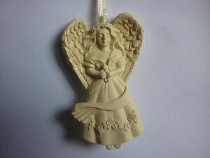 ANGELO DA APPENDERE albero di Natale decorazioni casa COLOMBA grazia meditazione