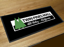 Back to the Future Twin PINS' Mall ' HILL VALLEY BARRE Tapis