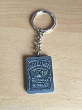 JACK DANIELS HEAVY BOTTLE LABEL KEYRING   FROM 2012