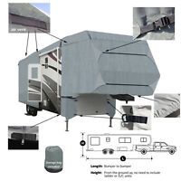 Deluxe 4-Layer 5th Wheel RV Motorhome Camper Storage Cover All Weather