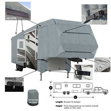Deluxe 4 Layer 5th Wheel RV Motorhome Camper Storage Cover All Weather