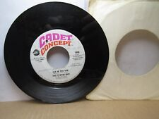 Old 45 RPM Record - Cadet 7006 - Status Quo - Ice in the Sun / When My Mind Is N