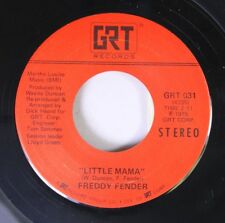 Country 45 Freddy Fender - Little Mama / Since I Met You Baby On Grt Records