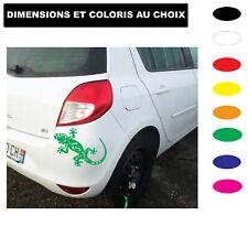 Sticker Autocollant LEZARD  GECKO  LEZARD SALAMANDRE  Coloris au choix