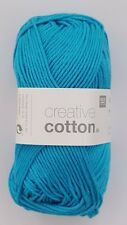 RICO DESIGN CREATIVE COTTON DK KNITTING YARN - 50g - ***ALL COLOURS***