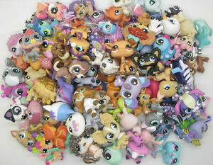 Lot 20pcs random Littlest Pet Shop 100% Original  Loose Figures E89B