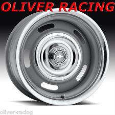 7x15 Rally Wheel FELGE STAHLFELGE Rallye 5x4.5/4.75 LK Corvette Camaro Nova 7J15