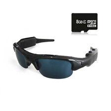 8GB Sunglasses Sport Spy Hidden Camera Security DVR Video Recorder 1280x960 Cam