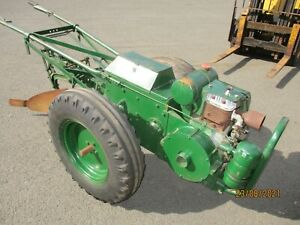 Circa 1948 Vintage Trusty Tractor Driven Horticultural Machine with J. A. P.