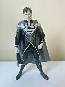 DC Direct Blackest Night Black Lantern Superman Action Figure