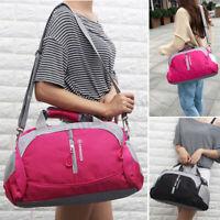 Men Women Sports Gym Fitness Travel Bag Shoulder Handbag Tote Luggage Duffle