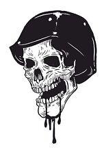 Skull Aufkleber Totenkopf Motorrad WOHNWAGEN LKW Tank Helm Bike Schädel #21