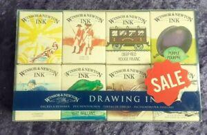 Winsor & Newton Drawing Inks Set