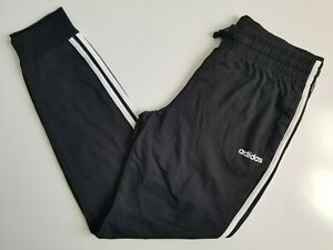 ADIDAS Women's Black Joggers Size Small S Active Track Pants Pockets NWT