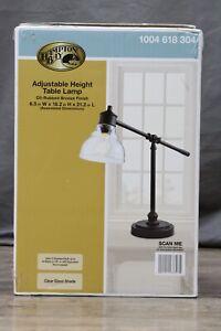 Hampton Bay  Bronze Adjustable Height Table Lamp