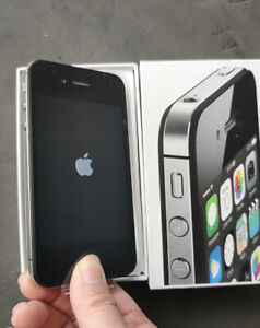 Unlocked Apple iPhone 4s -8/16/32/64GB Black  iOS9 3G WIFI Smartphone sealed