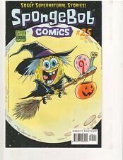 SPONGEBOB COMICS #25, 1st Print, VF/NM, (UNITED PLANKTON PICTURES, Sept. 2013)