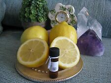 NEW NATURAL SUGAR FROSTED LEMON AROMATHERAPY 4ml. FRAGRANCE OIL-SUNNY & SWEET