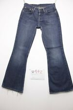 Levis 544 flare bootcut accorciato jeans usato (Cod.U592) Tg.43 W29 L34 donna