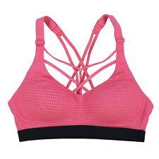 Victoria/'s Secret lightweight medium support wireless sport bra size 34D purple pink v Purple//Pink