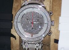 New Authentic Mens Joe Rodeo jjm12 master 4.75.ct.aprx.Diamond Watch