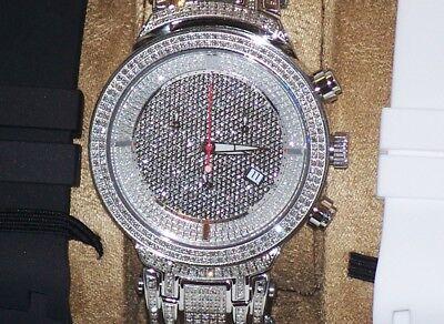 New Authentic Mens Joe Rodeo jjm12 master 4.75.ct.aprx.Diamond Watch