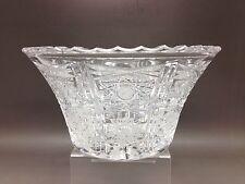 Piccolo Tagliare Ciotola di vetro-design intricato (15 cm di diametro)