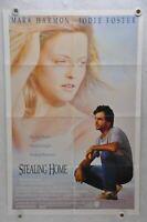 1988 Stealing Home Original 1SH Movie Poster 27 x 41 Mark Harmon Jodie Foster
