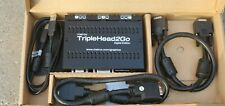 *** New Matrox TripleHead2Go Digital Edition with cables