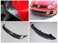FOR CARBON FIBER  10-13 VW Golf VI MK6  GTI REAR WING TRUNK SPOILER+Front Lip