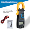 600VElectrical LCD Digital Clamp Multimeter Meter RMS AC/DC OHM Multi Use Tester