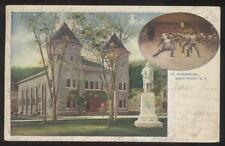 Postcard WEST POINT New York/NY  Cadet Fencing Drill Exercise view 1906