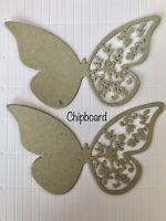 Cardmaking Die Cuts FREE POSTAGE OFFER 6 X Butterflies #5 Scrapbooking