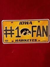 Iowa hawkeyes license plate New Football College