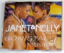 JANET (Jackson) & NELLY - CALL ON ME - CD Single  Nuovo Unplayed