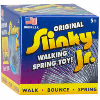 RETRO ORIGINAL SLINKY JR WALKING SPRING TOY - MADE IN THE USA BRAND NEW