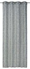 Eyelet Curtain Drape striped blue non-transparent Safari 199159