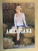 Sirdar Americana D/K Knitting Pattern Book 14 Designs For Women And Girls 441