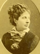 Comedie Française French Stage Actress Marie Favart Reutlinger Photo CDV 1870's