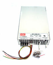 1pc DC Switching Power Supply SE-1500-48 48V 31.3A 1500W AC180~264V Mean Well MW
