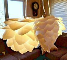 Vita Conia, Silivia and Aluvia 3 Light Pendant Set White Ceiling Fixture
