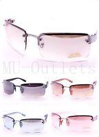 New Mens Womens Rectangular Designer Fashion Metal Frames Sunglasses (#6074)