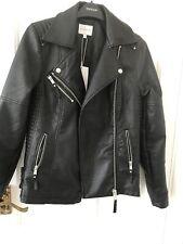 Warehouse Leather Biker Jacket BNWT 10