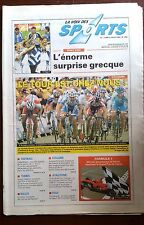 La voix des sports 5/7/2004; Euro 2004, l'énorme surprise grec/ Tour de France
